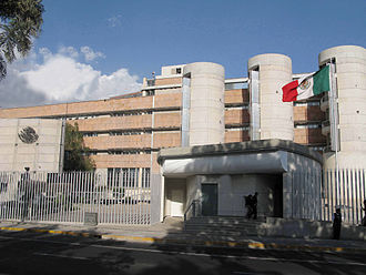 Federal Electoral Tribunal - Building of the Federal Electoral Tribunal in Mexico City