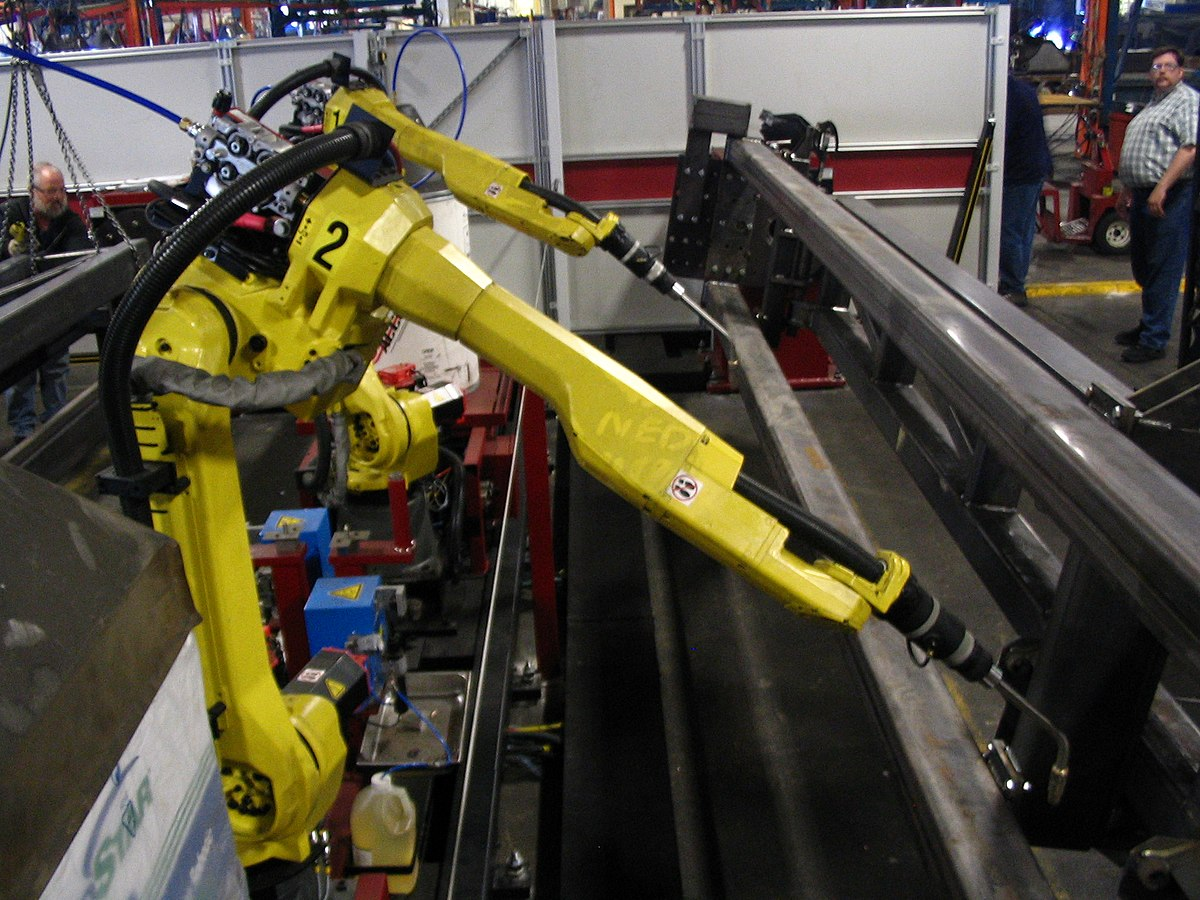 Robot welding - Wikipedia