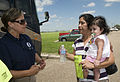 FEMA - 37379 - FEMA community relations worker speaks with a Texas resident.jpg
