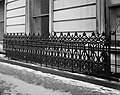 FENCE DETAIL, WEST FACADE. - Leonard W. Jerome Mansion.jpg