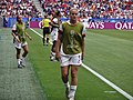 FIFA Women's World Cup 2019 Final - US substitutes warming up (3).jpg
