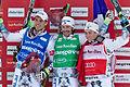FIS Ski Cross World Cup 2015 - Megève - 20150313 - Bastien Midol, Sylvain Miaillier et Jean-Frédéric Chapuis 1.jpg
