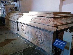 Fabian von Fersen - Sarcophagus of Fabian von Fersen in St Mary's Cathedral, Tallinn