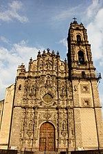 Fachada Barroco, Colegio Jesuita, Tepotzotlán
