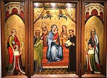 Marienaltar mit den Erzbischöfen Falkenstein