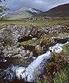 Falls on the Abhainn na h-Uamha - geograph.org.uk - 911755.jpg