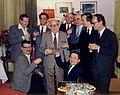 Farkas Ferenc tanítványai között 80. születésnapján (1985).jpg