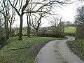 Farm road to Burscott - geograph.org.uk - 740413.jpg