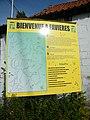 Favières, Somme, Fr, panneau d'informations sur la route départementale.jpg