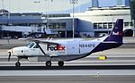 FedEx Feeder (West Air) Cessna 208B Super Cargomaster N844FE (cn 208B0149) (5578960652).jpg