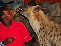 Feeding the Hyenas - Outside Walls of Old City (Jugal) - Harar - Ethiopia - 02 (8752930683).jpg