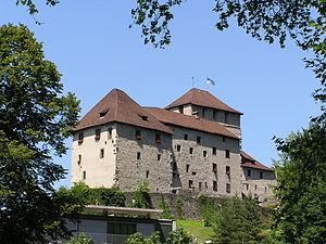 County of Feldkirch - Schattenburg castle, former seat of the counts of Feldkirch