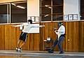 Fencing in the evening at Athenaikos fencing club.jpg