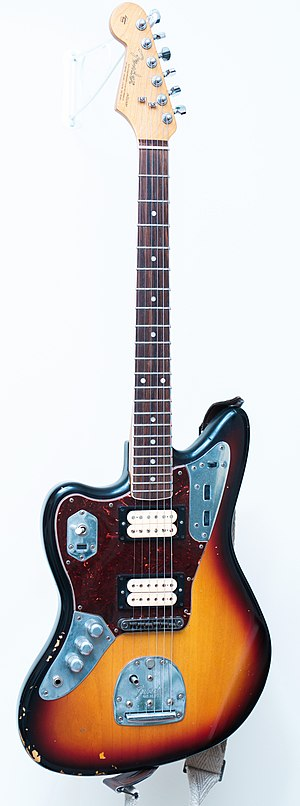 Kurt Cobain - Kurt Cobain's model of Fender Jaguar
