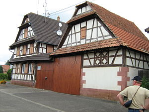 Alteckendorf - Half-timbered Farmhouse
