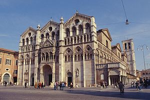 Ferrara Cathedral - Ferrara Cathedral west front