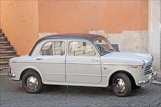 Fiat 1100 - Top-of-the-line: 1100/103 TV