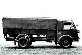 Fiat 666 Type of Heavy Truck