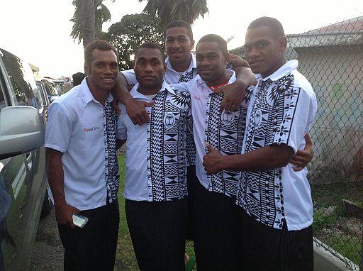 Fiji sevens team March 2014
