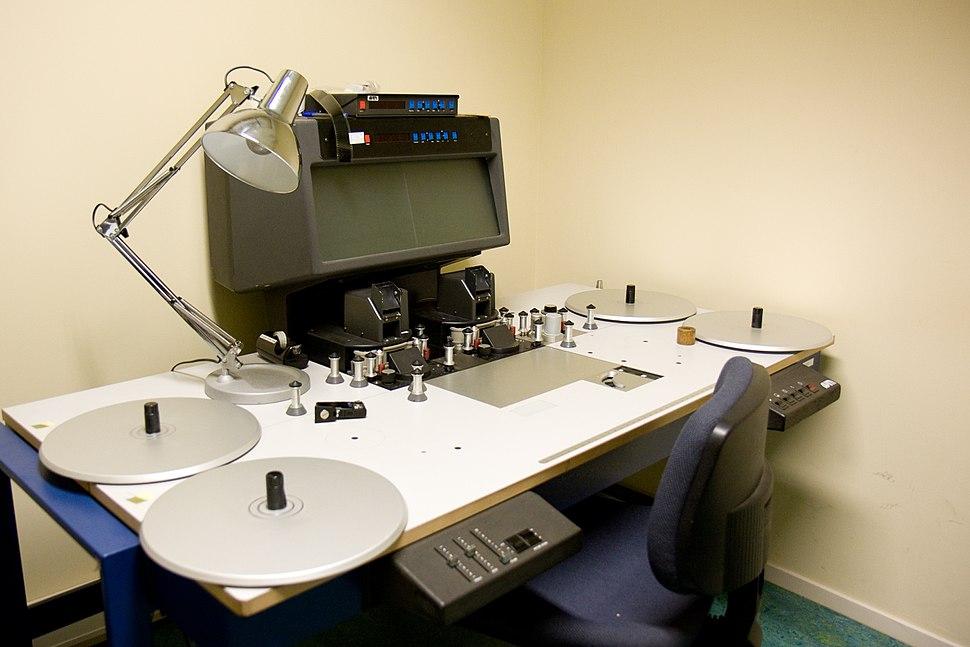 Film editing table (5201693172)