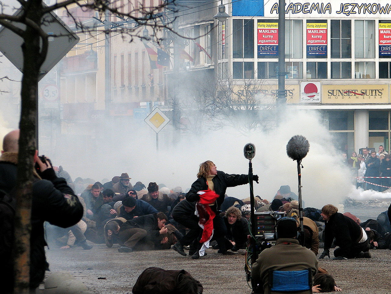 "Filmmaking of ""Black Thursday"" on ulica Świętojańska in Gdynia - 07.jpg"