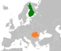 Finland Romania Locator.png