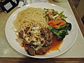 Fired beef and mixed mushroom and vegetables and angel hair.jpg