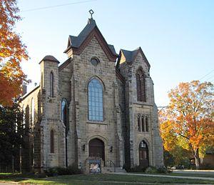 Mineral Point, Wisconsin - First Methodist Church.