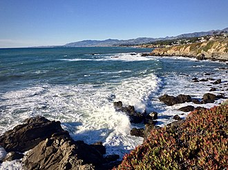 California Coastal Trail - Image: Fiscalini coast, Cambria