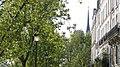 Flèche de Notre-Dame de Paris depuis le quai d'Orléans, sur l'Ile Saint-Louis.jpg