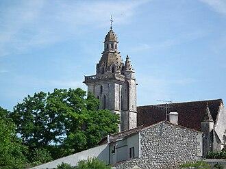Fléac-sur-Seugne - Image: Fléac sur Seugne, clocher