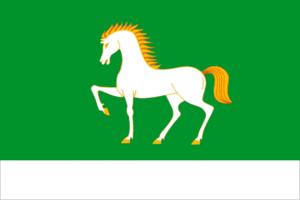 Abzelilovsky District - Image: Flag of Abzelil rayon (Bashkortostan)