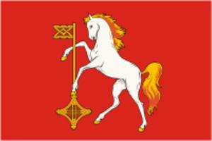 Kokhma - Image: Flag of Kokhma (Ivanovo oblast)