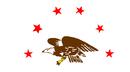 Drapeau de République du Madawaska(juillet-septembre 1827)