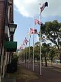 Flags near entrance of Huis Ten Bosch.jpg