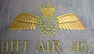 aviation branch of the British Royal Navy