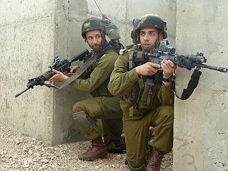 Kfir Brigade - Image: Flickr Israel Defense Forces Kfir Brigade IDF Officers Practice Urban Warfare (14)