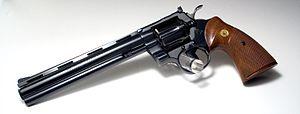 Colt Python - Colt Python Target, 8 inch barrel .38 Special.