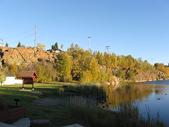 Flin Flon - Flin Flon in the fall