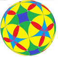 Flower of life on spherical rhombicuboctahedron.png