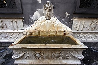 Fountain of the Spinacorona - Detail of the Fountain