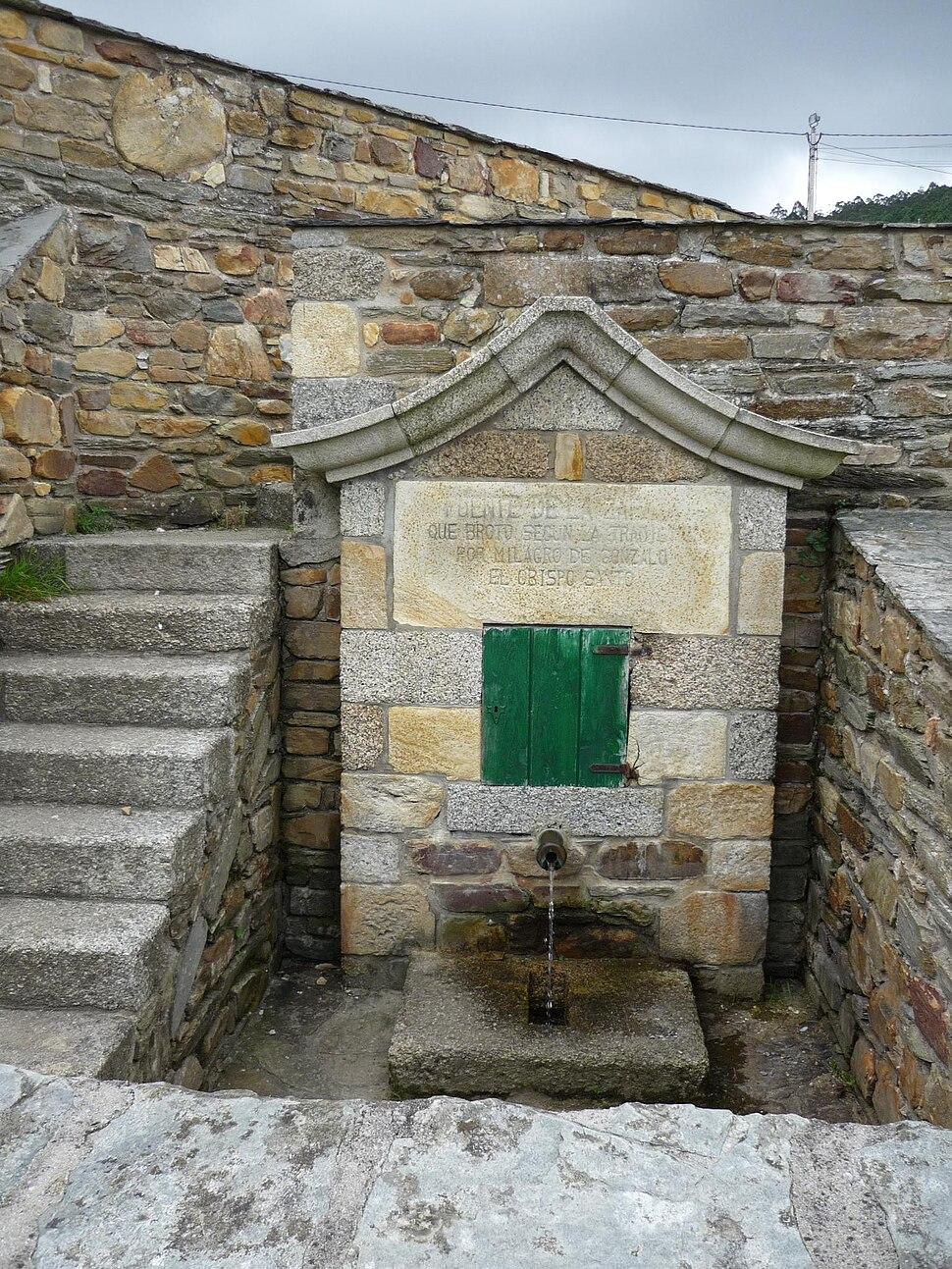 Fonte da Zapata, Mondoñedo