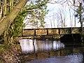 Footbridge and weir - geograph.org.uk - 1740361.jpg