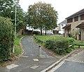 Footpath to Maesglas Grove, Newport - geograph.org.uk - 2533929.jpg