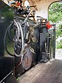 Footplate view of Vale Of Rheidol Railway locomotive No 8 - geograph.org.uk - 627523.jpg