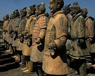 Forbidden Gardens - Full-scale statues at Forbidden Gardens in Katy, Texas.