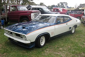 "John Goss (racing driver) - Ford XB Falcon GT Hardtop ""John Goss Special"""