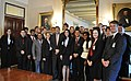 Fordham University students pose for a group photo with Deputy Secretary Neal Wolin (8596333944).jpg