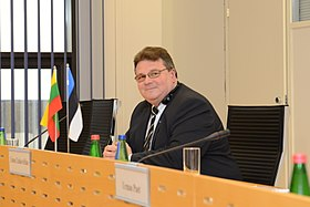 Foreign Minister of Lithuania Linas Linkevičius in Tallinn. 13.03.2013.jpg