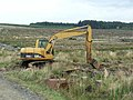 Forest machinery near Felicia Crags, Wark Forest - geograph.org.uk - 244681.jpg